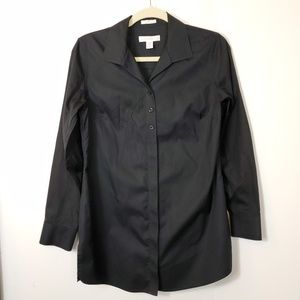 Chico's Tunic Non Iron Long Sleeve Button front